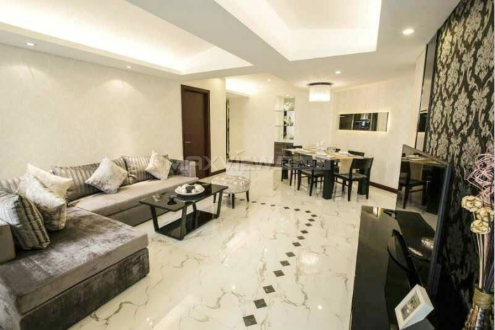 Rent a 2br 128sqm service apartment in GuangYao Apartment