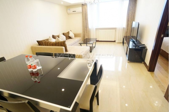 Rent a 1br 90sqm service apartment in GuangYao Apartment 1bedroom 90sqm ¥20,000 BJ0001635