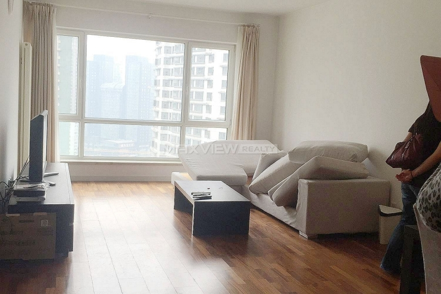 Beijing apartments rent Central Park 1bedroom 135sqm ¥22,000 BJ0001926