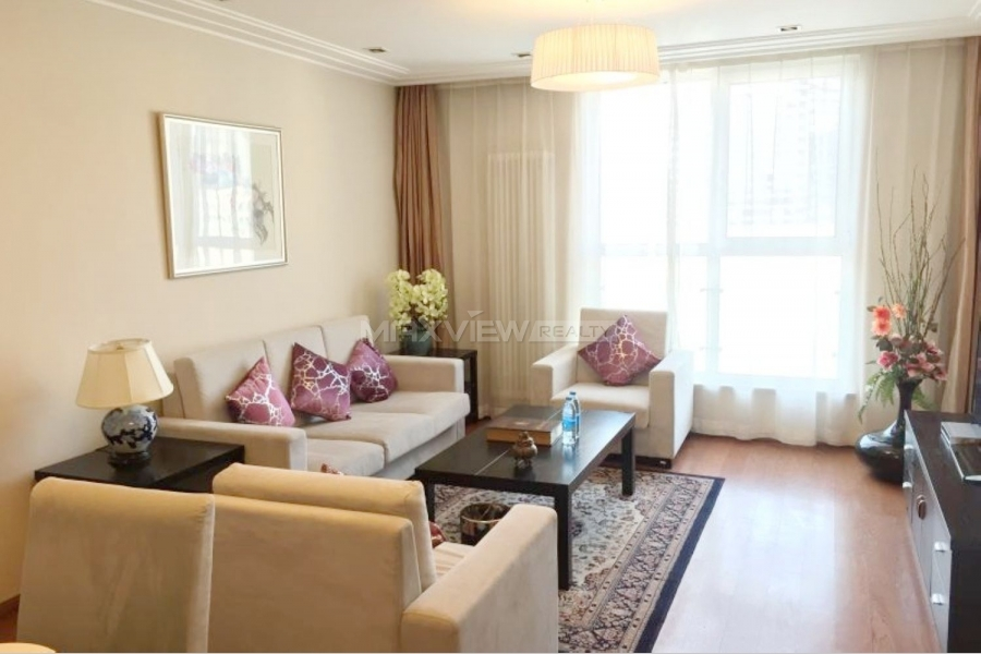 Service apartments for rent in Beijing Kylin Mansion 2bedroom 87sqm ¥22,000 BJ0002028