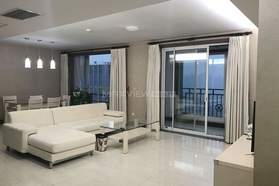 Beijing apartment for rent Guangcai International Apartment 3bedroom 217sqm ¥30,000 GT000094