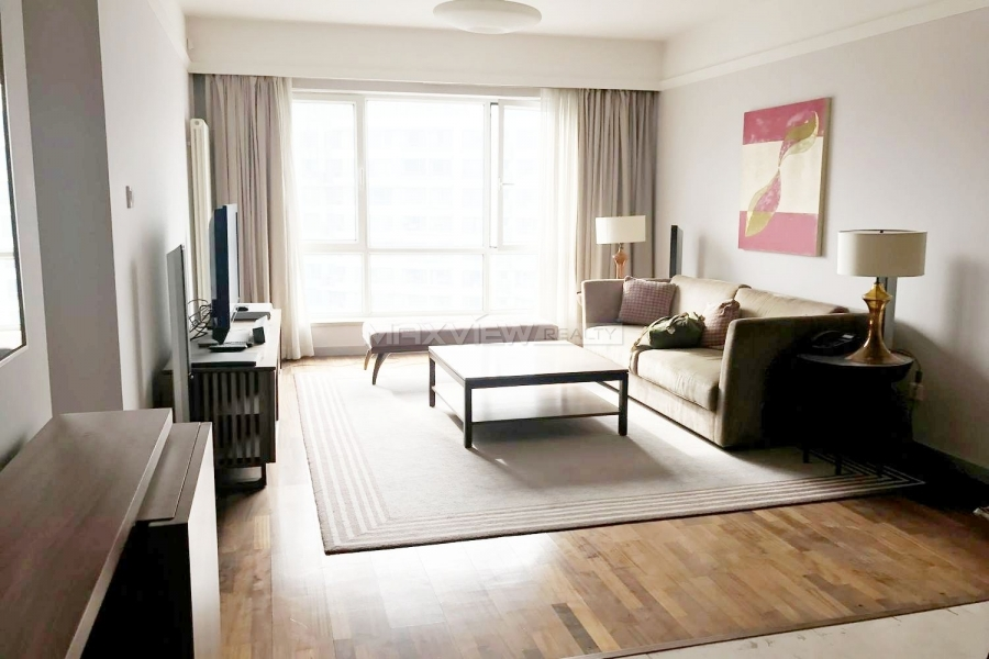Real estate Beijing Lanson Place 2bedroom 136sqm ¥30,000 BJ0002362