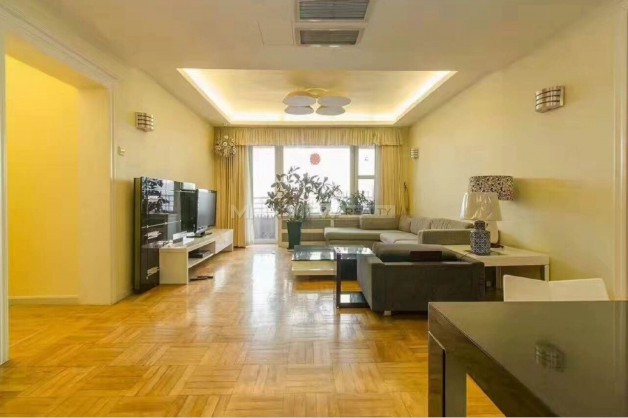 Beijing apartment rent in Parkview Tower 3bedroom 202sqm ¥28,000 BJ0002384