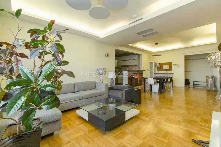 Beijing apartments rent in Parkview Tower 3bedroom 196sqm ¥25,000 BJ0002500