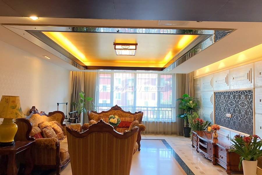 Apartment for rent in Beijing CBD Private Castle 3bedroom 232sqm ¥30,000 BJ0002735