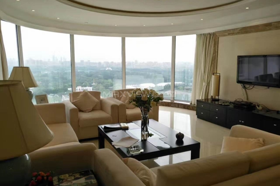 Beijing apartments for rent Palm Springs 3bedroom 186sqm ¥32,000 BJ0002808