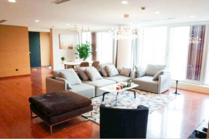 Beijing SOHO Residence 2bedroom 200sqm ¥38,000 PRS1341