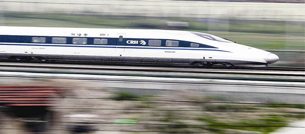 Beijing-Shanghai bullet trains speed up