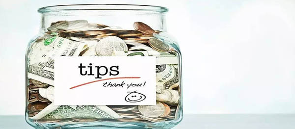 About Leaving Tips in China